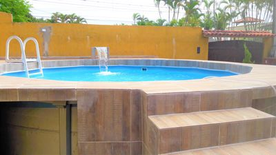 Photo for Enjoy your vacation or holidays, big house with pool and near the beach