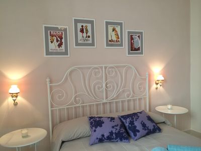 Photo for Charming 2 Bedroom apartment. Sleeps max 6. Located in town by the port of Trani