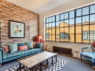 Photo for Stunning 1-Bed, Converted Factory in Marylebone