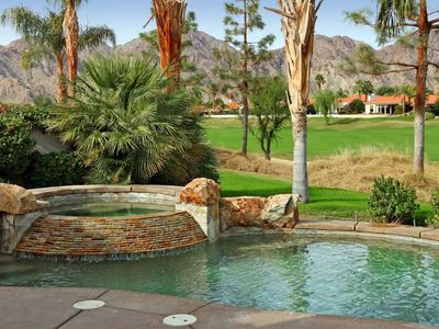 Photo for Beautiful PGA West home, 12th green of Nicklaus Private, pool, spa, 3 BR, 3 BA