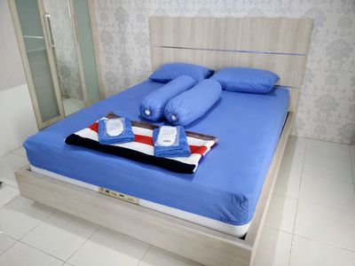 Photo for 1BR @ Apartment Salemba w/ hot shower & complimentaries