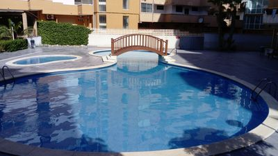 Photo for Near beaches. Climate, day and night leisure. Beautiful common area and pool.