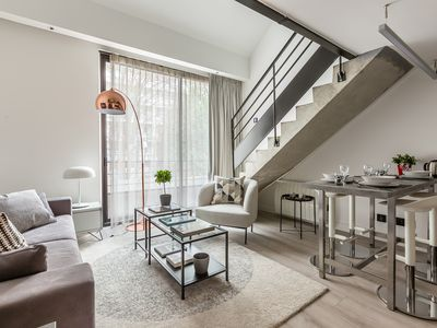 Photo for B6. Modern Loft Duplex Loft in Paris in the heart of the 15th arrondissement.