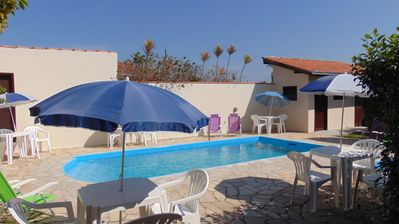Photo for ROOM WITH SWIMMING POOL - WI-FI / SKY 4 BEDROOMS ACCOMODATES 17 PEOPLE. BARRA VELHA-SC