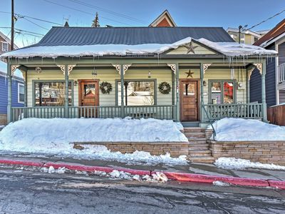 Photo for Historic Downtown Park City Home -Walk to Ski Lift