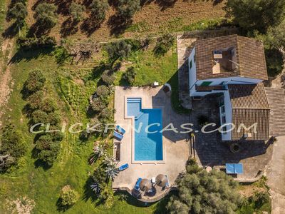 Photo for Son Xota de Dalt, Ecological privileged finca with pool and panoramic views
