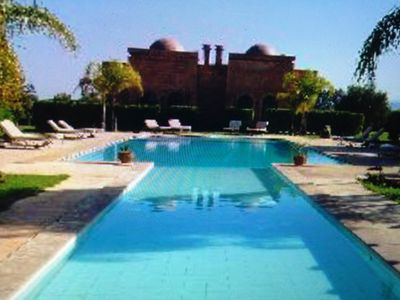 Photo for Villa Riads on the road to Ourika IDEAL FOR LARGE GROUPS AND FAMILIES