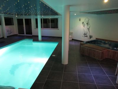 Photo for LUXURIOUS VILLA, beautiful sea view, 350 m2, pi, scine 29 °, jacuzzi 36 °, games room ...