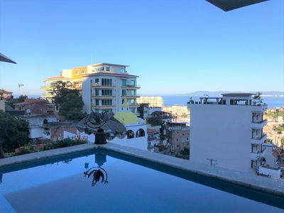 Photo for (CC) Elegant Penthouse Studio, Private Pool, Views, Great Location