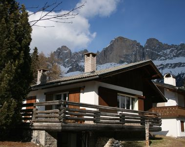 Photo for Mountain hut in Karersee with an unobstructed view of the Latemar
