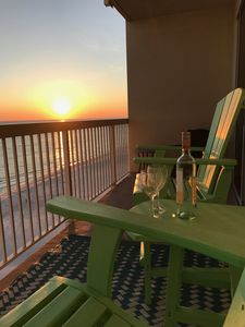 Photo for Master BR with Balcony and Living Area Directly on OCEAN!! Extra Bedroom with Bu