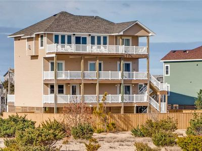 Photo for New Upscale Oceanfront Home-Pool, Hot Tub, GameRm, Dual Appliances, Grill & More