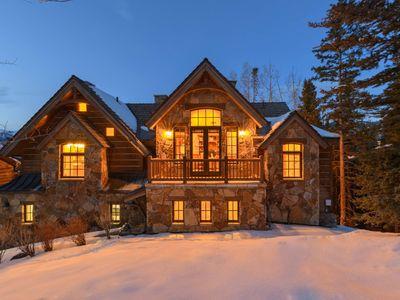 Photo for Ski-in/Out Luxury Home, Private Hot Tub, Walk to Gondola: Snow Creek Lodge
