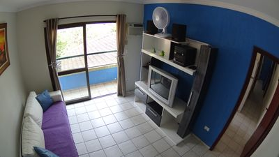 Photo for APTO TUPI PRAIA GRANDE SP - ONLY 35 MTS FROM THE BEACH - R $ 170,00day