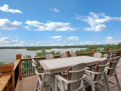 Photo for NEW! Home w/Decks & Pool Access on Table Rock Lake