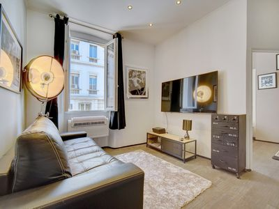 Photo for IMMOGROOM - Renovated Cannes Center - Modern - A/C - CONGRESS/BEACHES