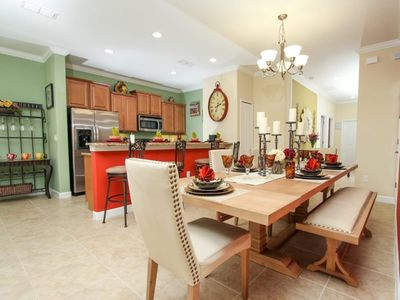 Photo for This Luxury 5 Star Townhome is located minutes from Disney World on Paradise Palms Resort, Orlando House 1205