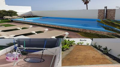 Photo for Villa Roja (2) , Small resort with pool, playground & boule in the center