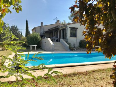 Photo for Quiet house with pool