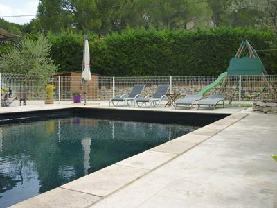 Photo for VILLA IN PEACE WITH SWIMMING POOL, CLIM AND SPACE CHILD