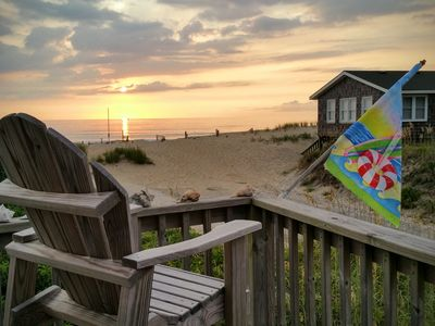 Photo for Charming So Nags Head Semi-Oceanfront with awesome views from three decks - Fun!