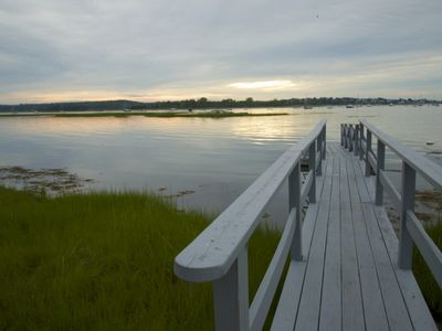 Photo for Spectacular Gloucester/Annisquam waterfront house with dock
