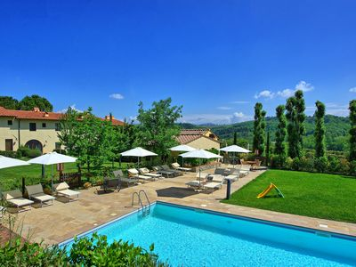 Photo for 2BR Apartment Vacation Rental in Montespertoli, Tuscany