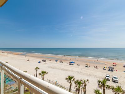 Photo for Luxury Oceanfront Unit 404 featuring 3 Bedrooms 3 Bathrooms with endless views of the Atlantic Ocean.