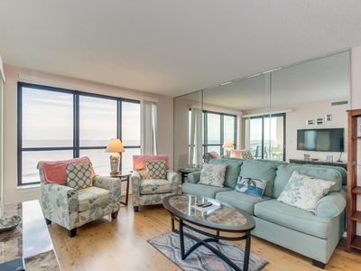 Photo for Recently Renovated Oceanfront Condo, Great Location, Amazing Views