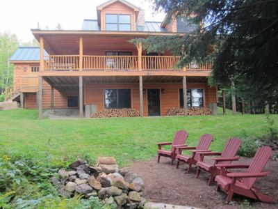 Photo for Haley Hideaway - Stunning Lakefront Cabin with All the Amenities