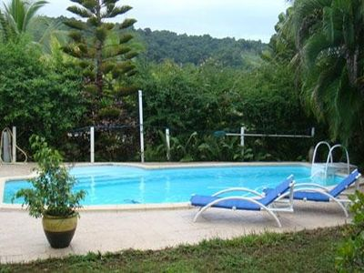 Photo for Quiet cottage in beautiful location on the edge of rainforest,