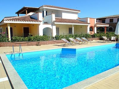 Photo for 2 bedroom Apartment, sleeps 4 in Monte Petrosu with Pool and WiFi