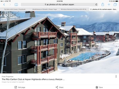 Photo for Ritz Carlton Club Aspen Highlands  - 3bed, 3bath