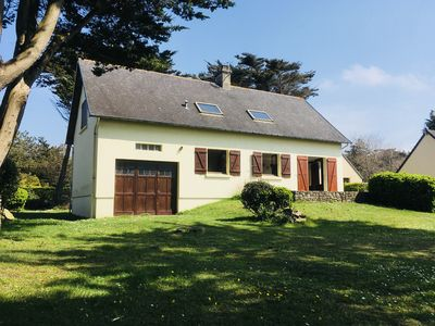 Photo for Large Beautiful Gîte, Just a few meters from the Beach.