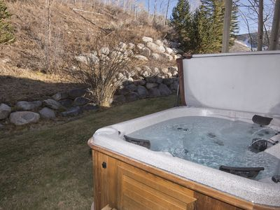 Photo for Ski/in & out, private hot tub, Beaver Creek mountain views, walk to shops/dining