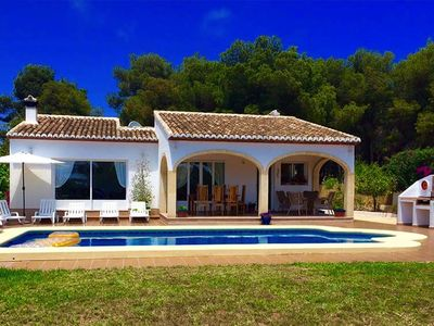 Photo for *** JAVEA VILLA *** 3 Bedrooms, A/C, WiFi, UK TV, Private Pool, BBQ