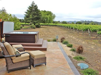 Photo for Beautifully Constructed 2 bed 2 bath Casita nestled within Twin Creeks Vineyard🍷