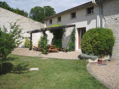 Photo for Beautiful converted barn - La Grange at Les Hiboux family friendly cottages.