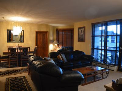 Photo for Convenient location - 3 Bedroom Condo on the skier shuttle free bus line