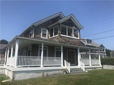 Photo for Oceanview Beach House with great views and wrap around porch,short walk to beach