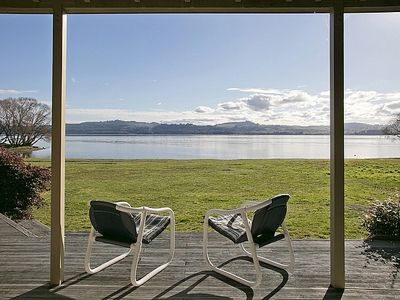 Photo for Lakeside Vistas Magic - Rainbow Point Holiday Home on the Waterfront