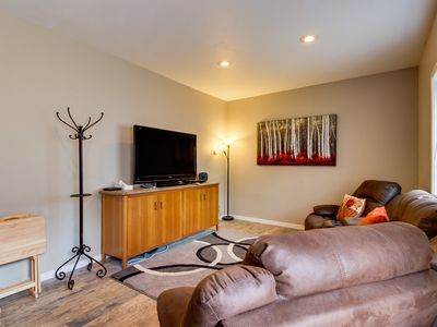 Photo for Contemporary and bright home w/ private garage for your toys!