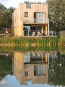 Photo for Waterfront Lake House on private estate in Cotswolds