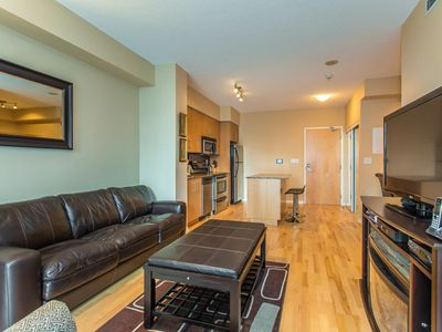 Photo for CORPORATE ONE BEDROOM + DEN CONDO LOCATED DOWNTOWN TORONTO