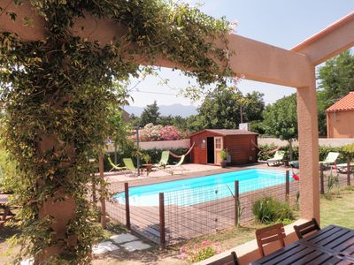 Photo for COMFORTABLE VILLA, GARDEN, PRIVATE POOL, 20 MN PERPIGNAN / BEACHES / SPAIN