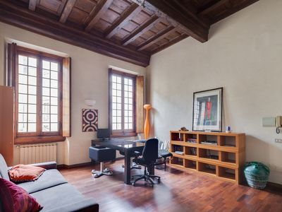 Photo for Tornabuoni Apartment in Florence with terrace