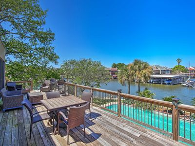Photo for NEW! Lakefront Montgomery Home w/ Resort Amenities