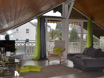Photo for Modern and spacious attic apartment in Abtsteinach im Odenwald