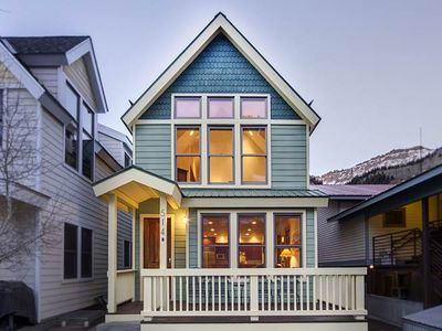 Photo for Modern Townhome With Traditional Style 2 Blocks From Downtown Telluride