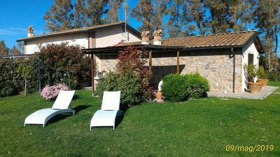 Photo for VILLA IN TYPICAL FARM TUSCANY A 1.8 KM FROM THE SEA